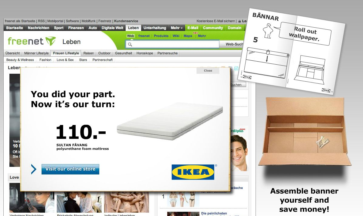 Rich Media Production - IKEA-ad