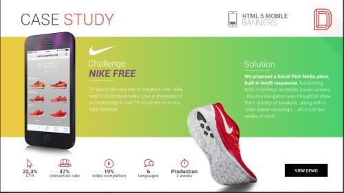 animated banner case study fro nick