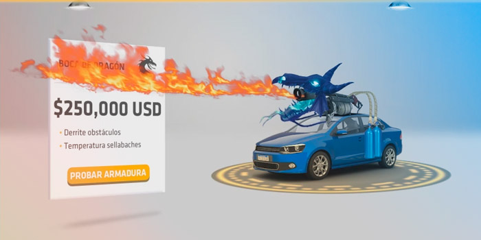 Banner ads: HTML5 3D Banner ads Example That Totally Take