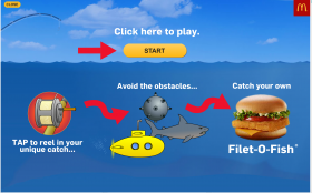 Game banner Ad Example